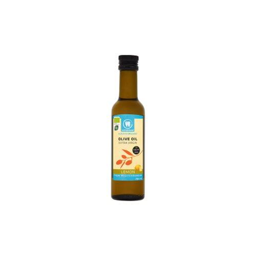 Olivenolie extra jomfru med Lemon Økologisk 250 ml
