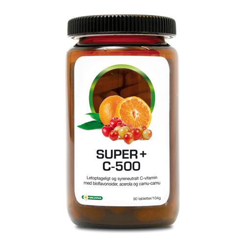 Super+ C-500 fra Mezina - 90 tabletter