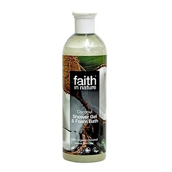 Image of Faith in nature Showergel kokos - 400 ml