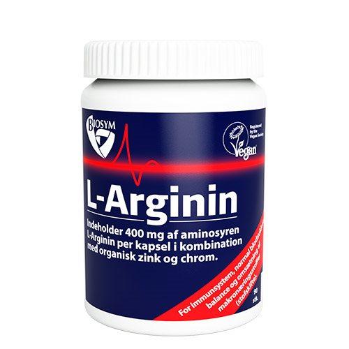 Image of   Biosym L-Arginin (90 kap)