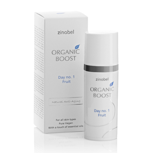 Zinobel Organic Boost Dagcreme No.1 Natural 50 ml