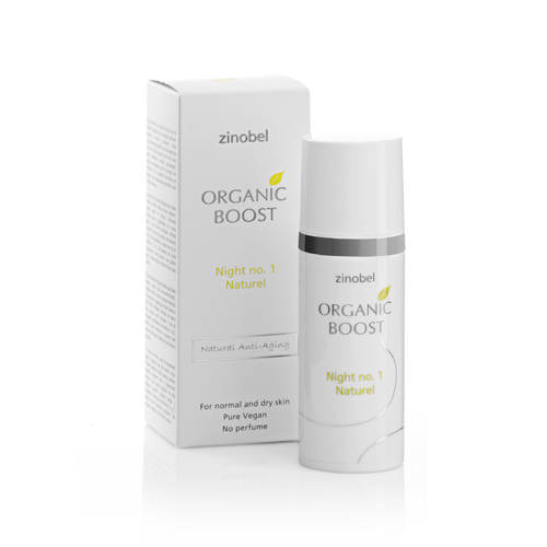 Zinobel Organic Boost Natcreme No.1 Naturel 50 ml.
