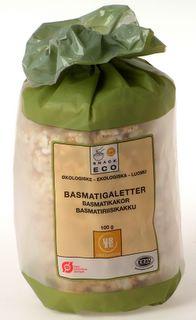 Risgaletter basmati fra Urtekram Øko - 100 gram