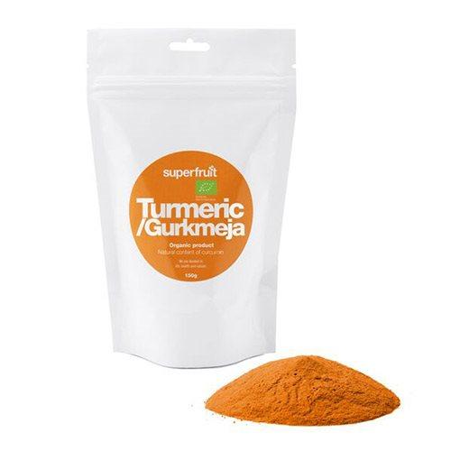 Gurkemejepulver Økologisk - 150 gram