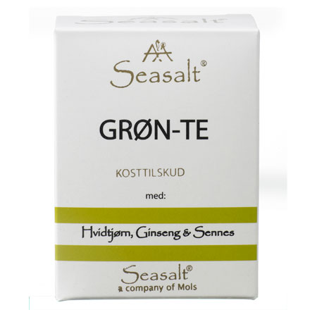 Image of Seasalt Grøn Te - 7 breve