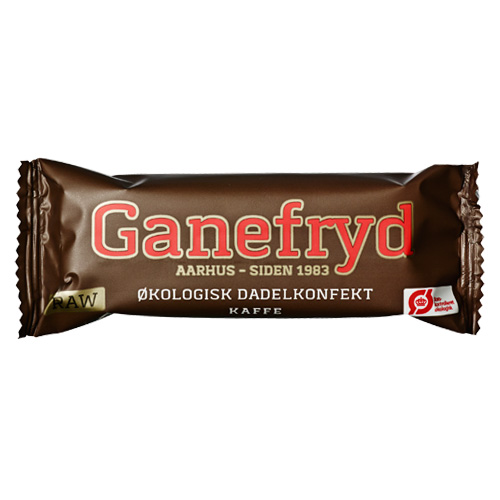 Ganefryd Dadelkonfekt-bar med Kaffe Øko 50 gram