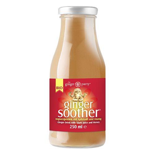Ingefærdrik med æble og honning Øko - 250 ml