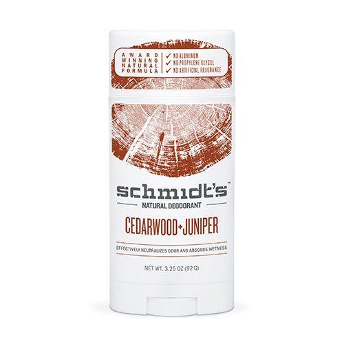 Image of   Schmidts Deodorant stick Cedarwood+Juniper - 92 gr