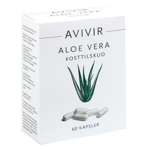 AVIVIR Aloe-Vera kapsler - 60 stk.