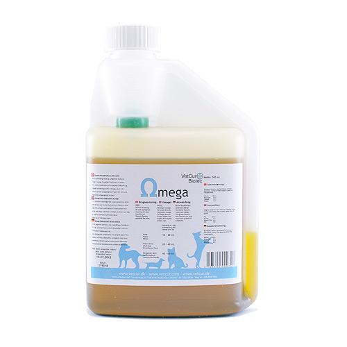 Omega Olietilskud til husdyr - 500 ml.