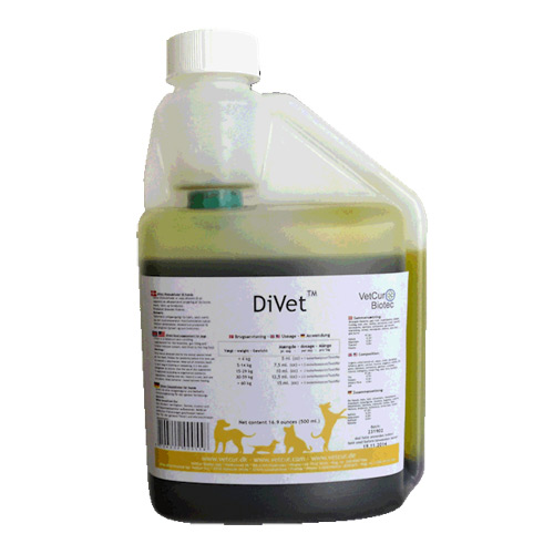 Image of DiVet hund til den mavesure - 500 ml.