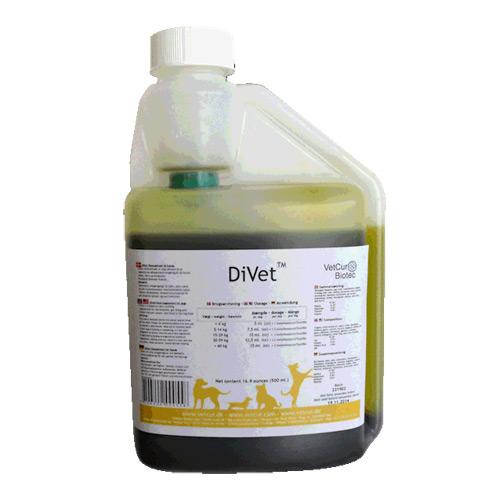 """DiVet hund """" til den mavesure"""" - 500 ml."""