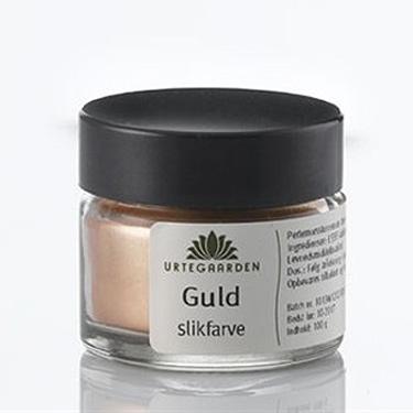 Image of Guld slikfarve krukke - 5 gram