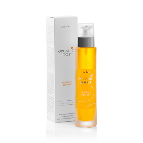 Zinobel Body oil high care Organic Boost - 100 ml