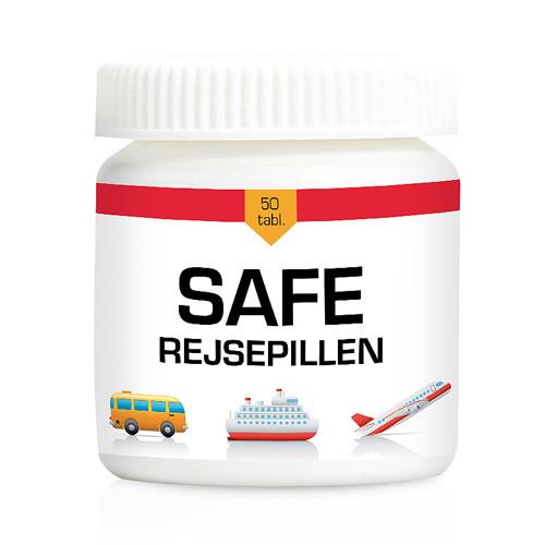 Safe rejsepillen - 50 tabletter