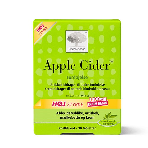 Image of   New Nordic Apple Cider (30 tab)