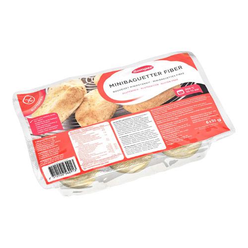 Image of Baguetter mini glutenfri fra Semper - 3000 gram