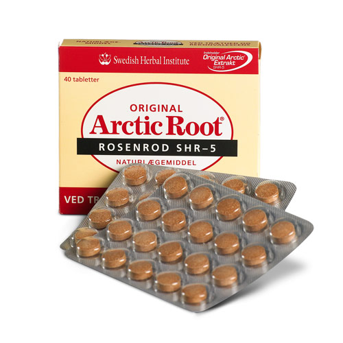 Arctic Root Rosenrod 500 mg. - 40 tabletter