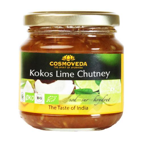 Image of Chutney Kokos lime Økologisk - 225 gram