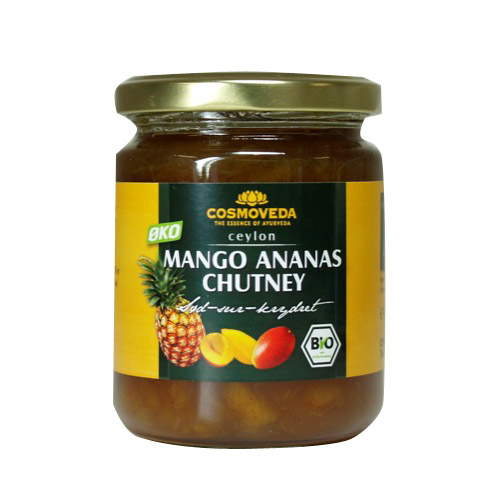 Image of Chutney Mango Ananas Økologisk - 225 gram
