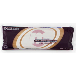 Hirse & Ris Nudler Økologiske - 250 gram