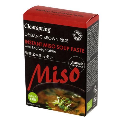 Miso Soup Paste Økologisk - 4 x 15 gr