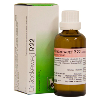 Image of   Dr. Reckeweg R 22 - 50 ml.