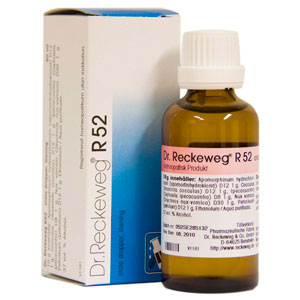 Image of   Dr. Reckeweg R 52 - 50 ml.