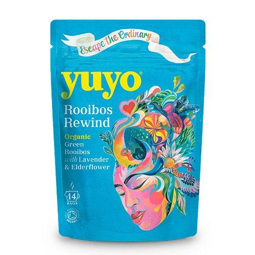 Image of   Yuyo Rooibos Rewind te m. Lavendel & Hyldeblomst Ø (14 br)