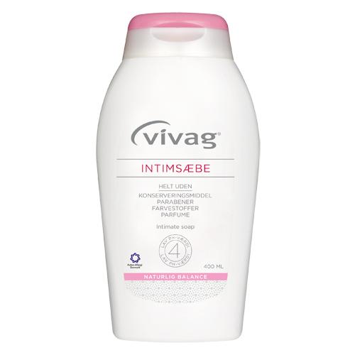 Vivag intimsæbe - 400 ml.