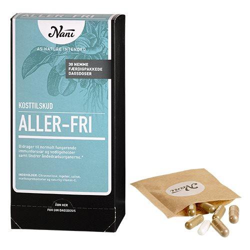 Image of   Aller-Fri helsepakke fra Nani - 30 breve