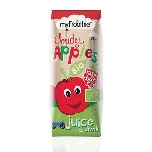 Image of MyFroothie apple, raspberry børnejuice Ø - 3x200 m