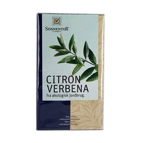 Citron Verbena te Sonnentor økologisk - 20 breve