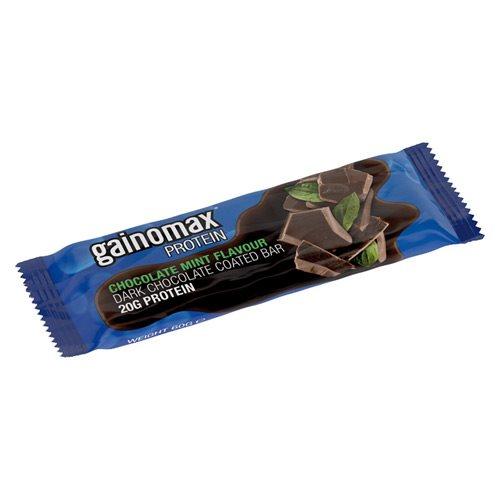 Gainomax proteinbarer fra Netspiren