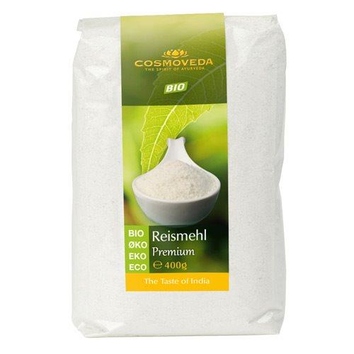 Rismel fuldkorn Økologisk fra Cosmoveda  - 400 gr