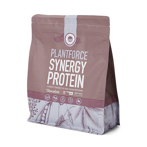 Image of Plantforce Synergy Chokolade Proteinpulver 800 gr