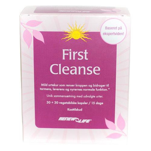 First Cleanse - 60 kapsler