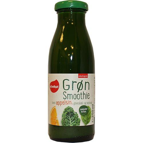 Image of Grøn Smoothie Appelsingrønkål & spinat Øko 250 ml.