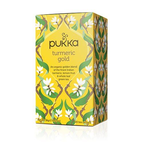 Pukka Turmeric gold te Økologisk - 20 breve