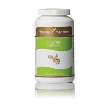 Ingefær med gurkemeje Fitness Pharma - 250 stk.