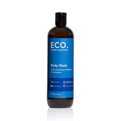 Image of   ECO. Body Wash Rosmarin, Mandarin & Kanel (500 ml)