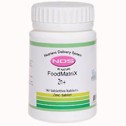 NDS Zn + Zinc - 90 tabletter