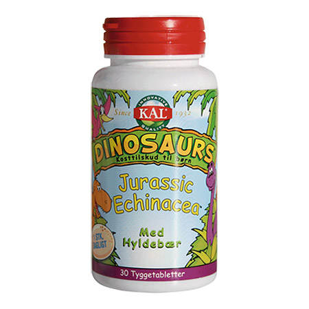 Image of   DinoSaurs Echinacea tygge børn - 30 tabletter