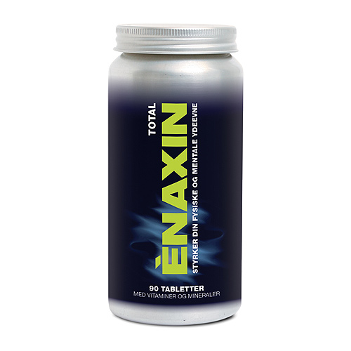 Image of   Enaxin Total m. vitaminer og mineraler - 90 tabl.