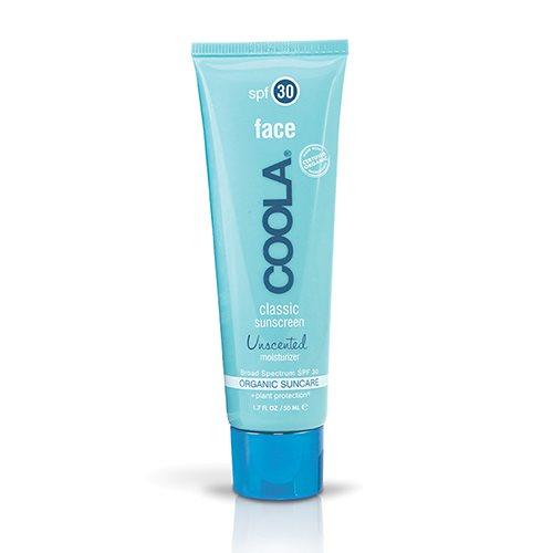 Coola uparfumeret ansigtssolcreme SPF 30 - 50 ml.