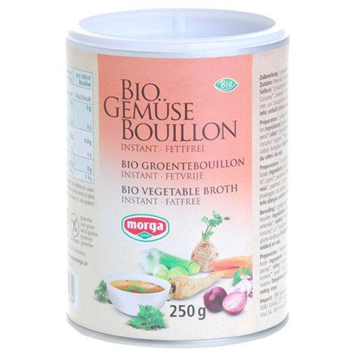 Image of Morga grønsagsbouillon instant glutenfri Øko 250 g