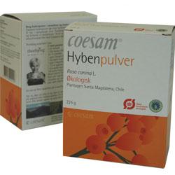 Coesam Hybenpulver Økologisk - 225 gram