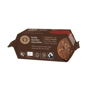 Double Chocolate Cookies Økologiske - 180 gram