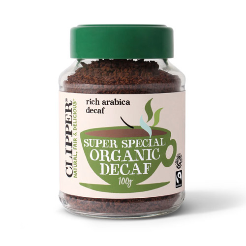 Image of   Clipper koffeinfri kaffe økologisk - 100 gram