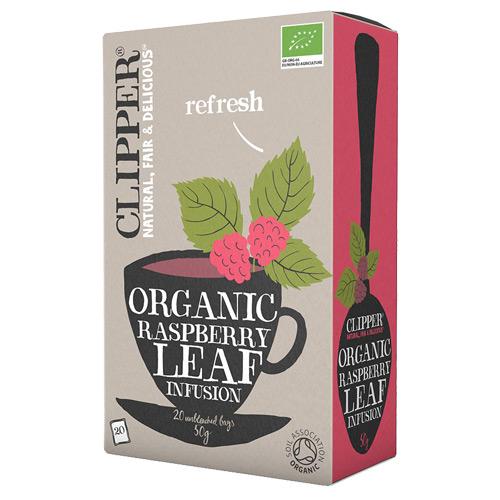 Clipper Hindbærblad te økologisk - 20 breve